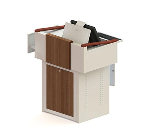 钢塑讲桌F100S