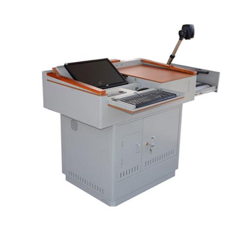 钢木讲桌F110M