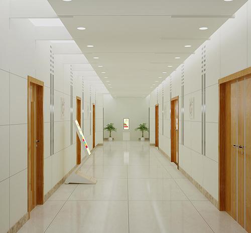 心理咨询中心走廊